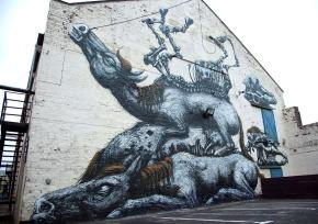 Art Crush: ROA's Skeletal StreetGiants
